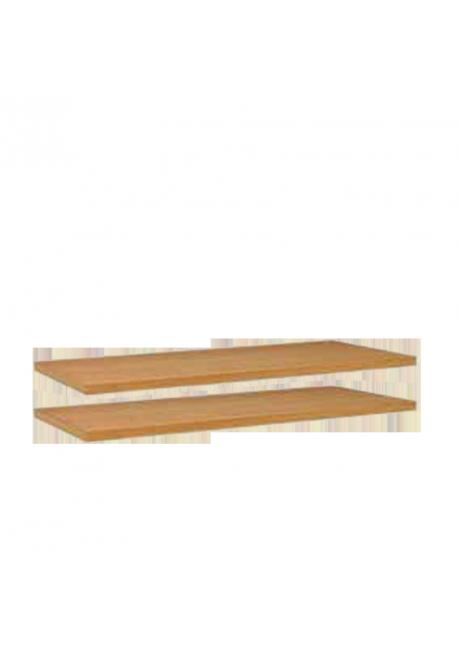 Regalzubehör - 2 Fachböden zu Regalen mit 89 cm Breite