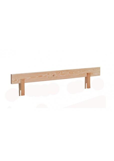 Aufsteckelement 90cm x 17 cm - Kopfteil - Fußteil - Rückenlehne, Kiefer Massivholz