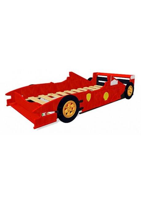 Kinderbett mit Rost, Rennwagen Bett direkt vom Hersteller