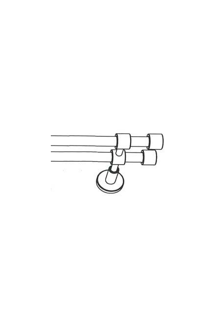 """Vorhanggarnitur Zylinder """"Castello 16"""""""