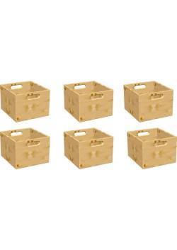 Stapelboxen - Set, 6 Stück