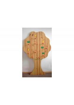 Garderobe, Kindergarderobe aus Massivholz
