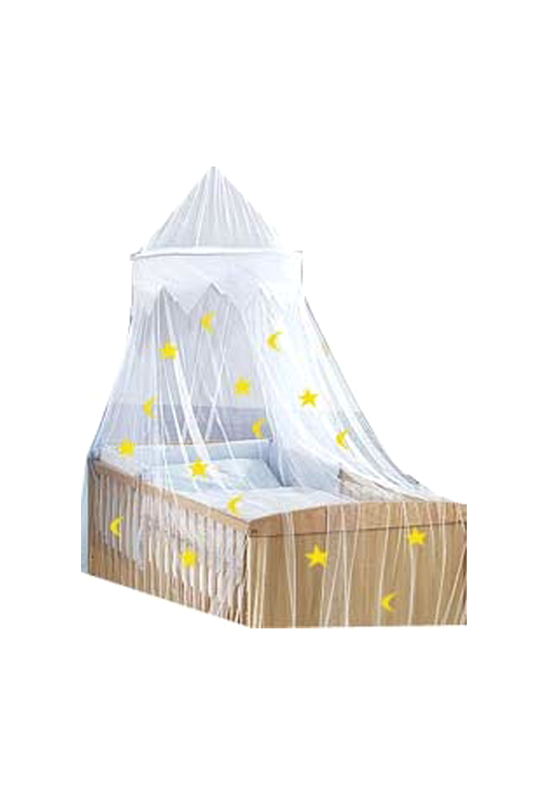 babybett himmel baldachin sternenhimmel silenta produktions gmbh. Black Bedroom Furniture Sets. Home Design Ideas