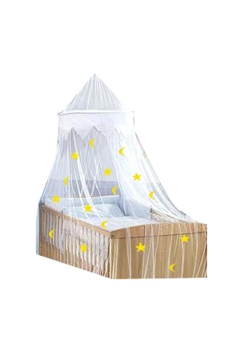bett himmel baldachin moskitonetz f r kinderbetten und jugendbetten silenta produktions gmbh. Black Bedroom Furniture Sets. Home Design Ideas