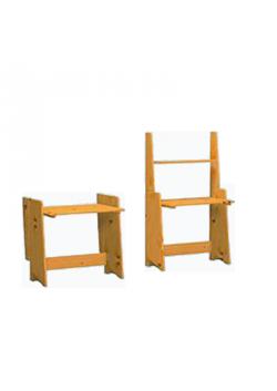 Wickeltisch/Schreibtisch, Massivholz  geölt, online bestellen