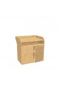 Wickelkommode,  Baby Wickeltisch, Bio-Qualität ohne Schadstoffe,  Massivholz
