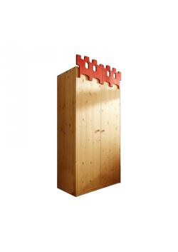 """Kinder-Kleiderschrank """"Palazzo"""" Massivholzmöbel, Bio Qualität, direkt vom deutschen Hersteller online kaufen"""