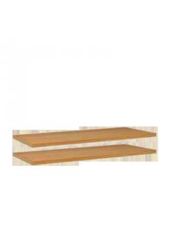2 silenta Einlegeboden Massivholz- Fachboden für Standregale   89 cm breit