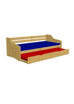 """Funktionsbett """"Tandem"""",  ausziehbare 2. Liegefläche,  2 Rollroste, direkt vom deutschen Hersteller"""