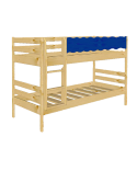 "Kinder Etagenbett ""Welle"" Holz massiv, 2 Rollroste"