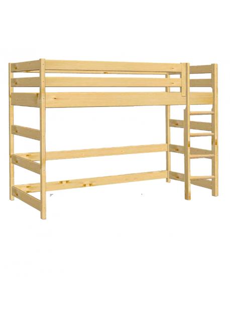 kinder hochbett trend mit rollrost massivholz fsc zertifiziert silenta produktions gmbh. Black Bedroom Furniture Sets. Home Design Ideas