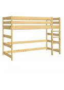 """Kinder Hochbett """"Primus 3"""", 150cm,  Holz massiv Rollrost"""