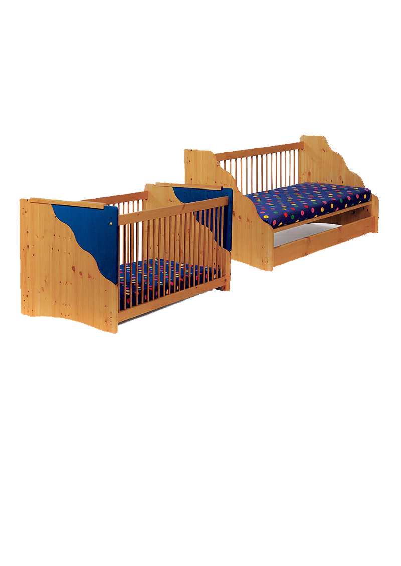 babybett welle kinderbett aus massivholz umbaubar zum. Black Bedroom Furniture Sets. Home Design Ideas