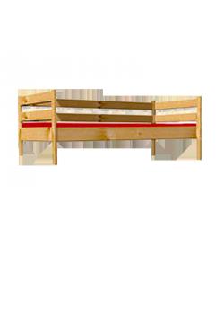 """Jugendbett  """"Primus 2"""" Sofabett mit Rollrost, Massivholz  FSC®, direkt vom deutschen Hersteller"""