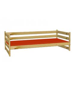"""Sofabett """"Primus 3"""" Kinderbett mit Rost, Massivholzmöbel geölt,  ohne Schadstoffe"""