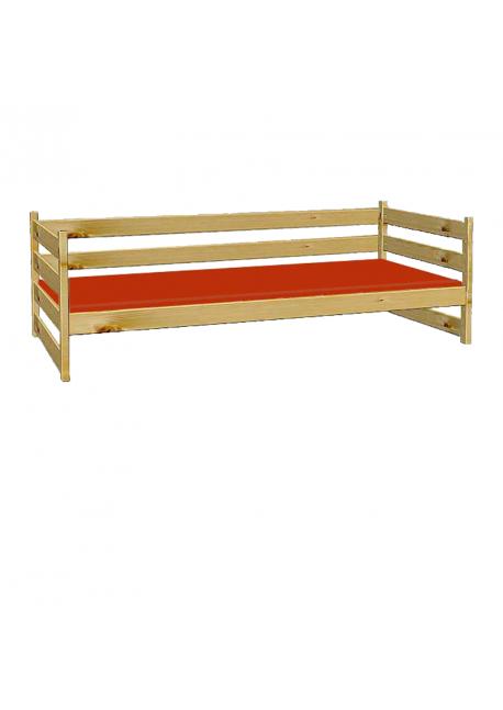 Sofabett Primus 7 Einzelbett Mit Rollrost Holz Massiv Aus