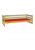 """Sofabett """"Primus 7"""" Einzelbett mit Rollrost, Holz massiv aus nachhaltiger Waldwirtschaft"""