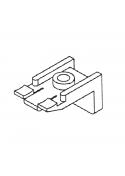 Befestigung für Gardinenschiene  aus Aluminium