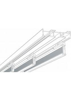 """Paneelwagen """"direkt"""" aus Aluminium für Schiebevorhänge / Flächenvorhänge"""