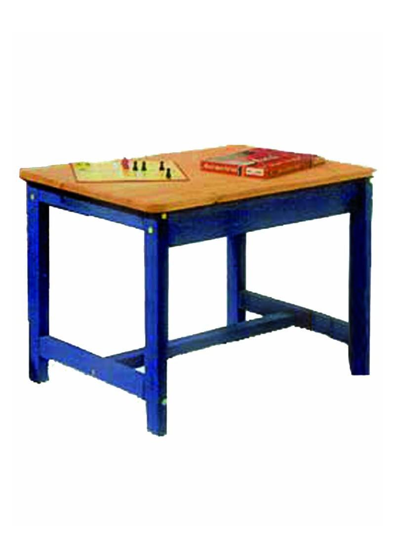 kinder tisch aus massivholz tisch f r kinder holz massiv 57 cm hoch direkt vom deutschen. Black Bedroom Furniture Sets. Home Design Ideas