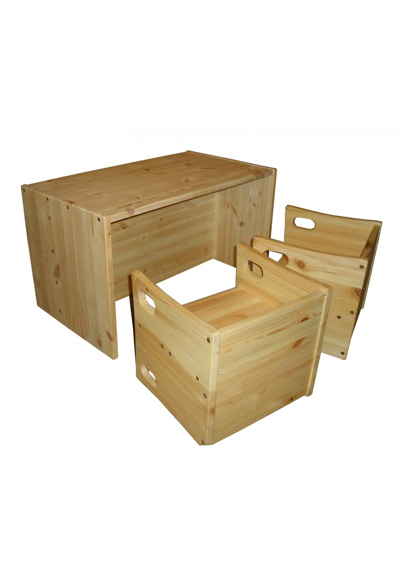 kindersitzgruppe f r 2 holz massiv bio qualit t silenta produktions gmbh. Black Bedroom Furniture Sets. Home Design Ideas
