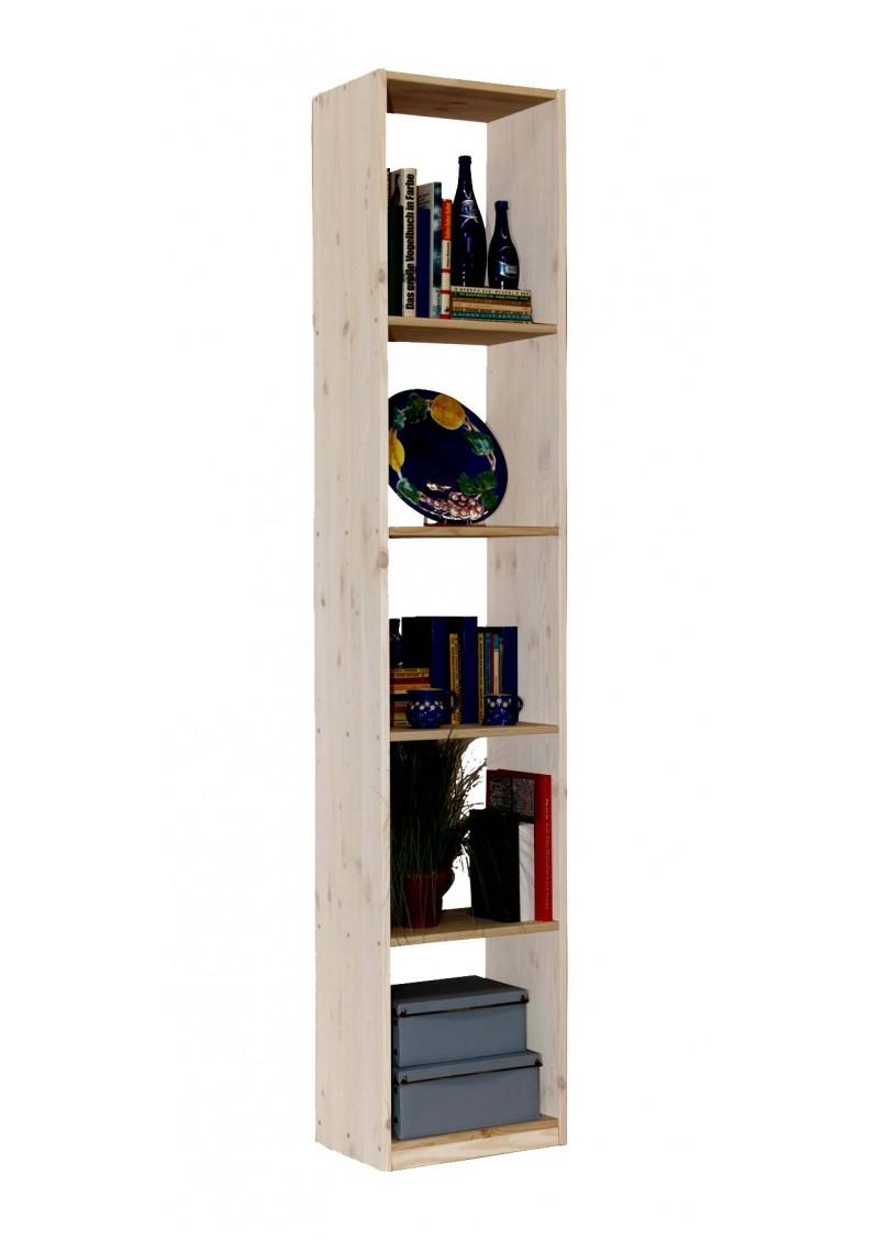 massivholz regal breite 44 cm b cherregal in 4 h hen. Black Bedroom Furniture Sets. Home Design Ideas