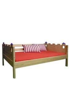 """Jugendbett, Sofabett """"Palazzo"""", Massivholz Kinderzimmermöbel, direkt vom deutschen Hersteller"""