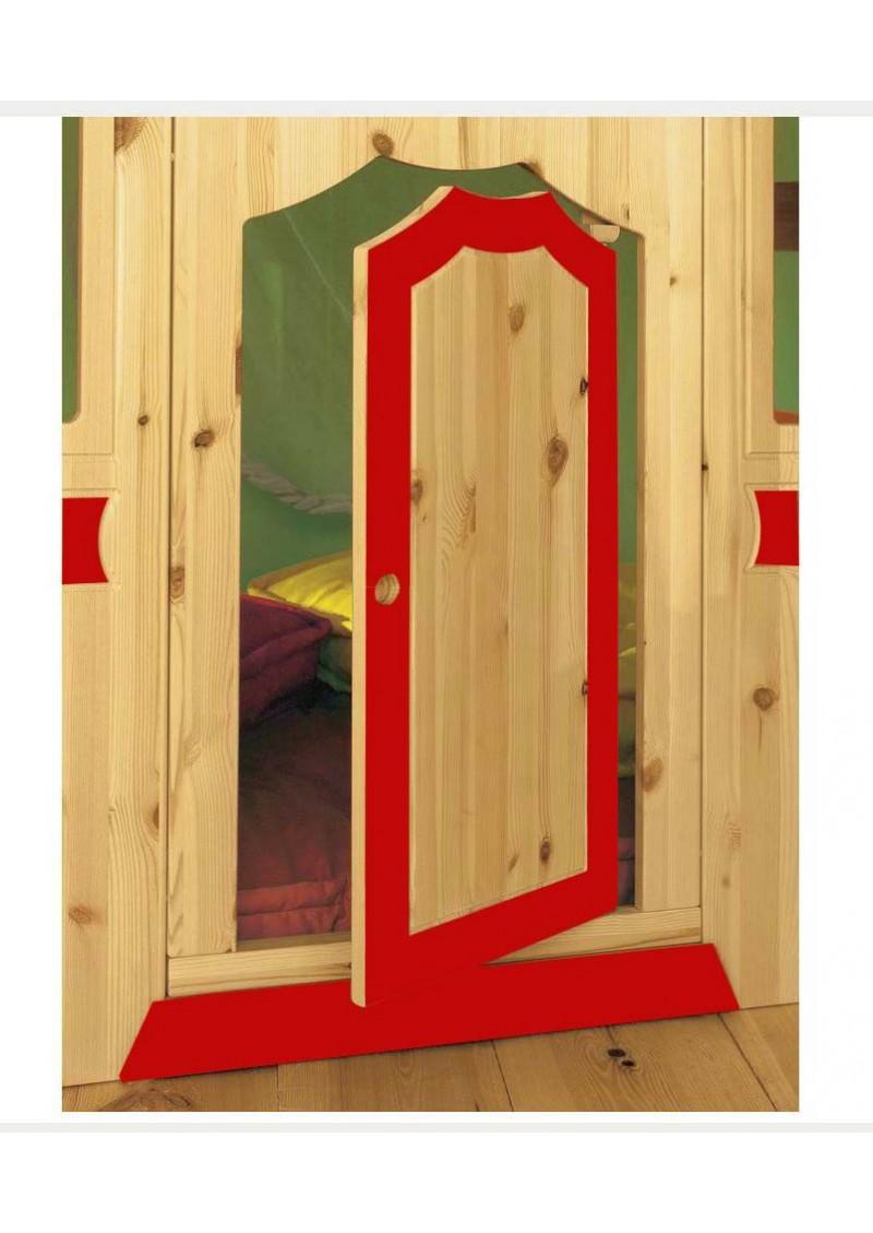 kinderhochbett traum burg mit burgfassade bio kinderbett sicherheits treppe holz fsc. Black Bedroom Furniture Sets. Home Design Ideas