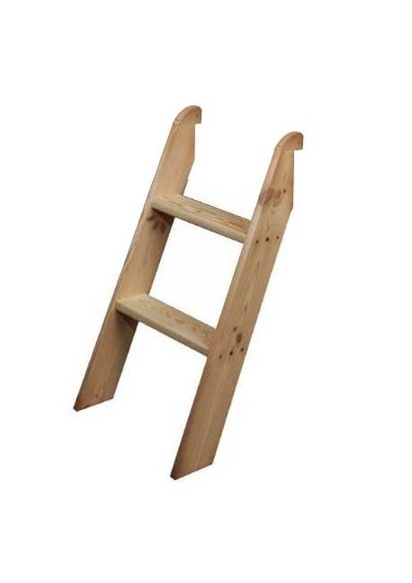 """Kinderbett-Treppe """"Arkona"""" Holz massiv, zum Jugendbett"""