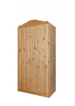 """Kleiderschrank aus Holz massiv """"Tölz"""" Bio Qualität"""
