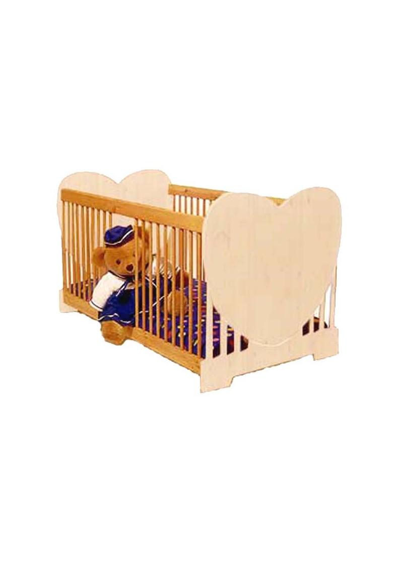 baby bett herz kinderbett aus massivholz silenta produktions gmbh. Black Bedroom Furniture Sets. Home Design Ideas
