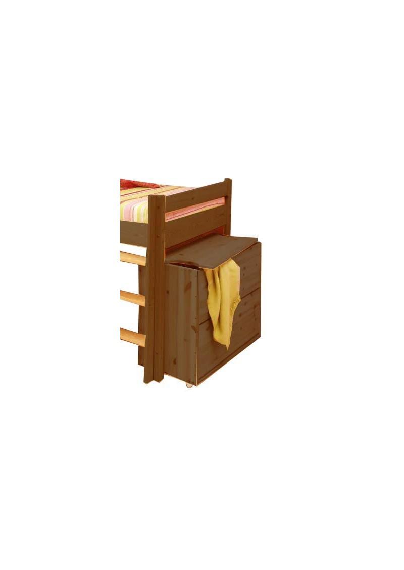 Holztruhe quot ebrach allzwecktruhe mit deckel auf rollen
