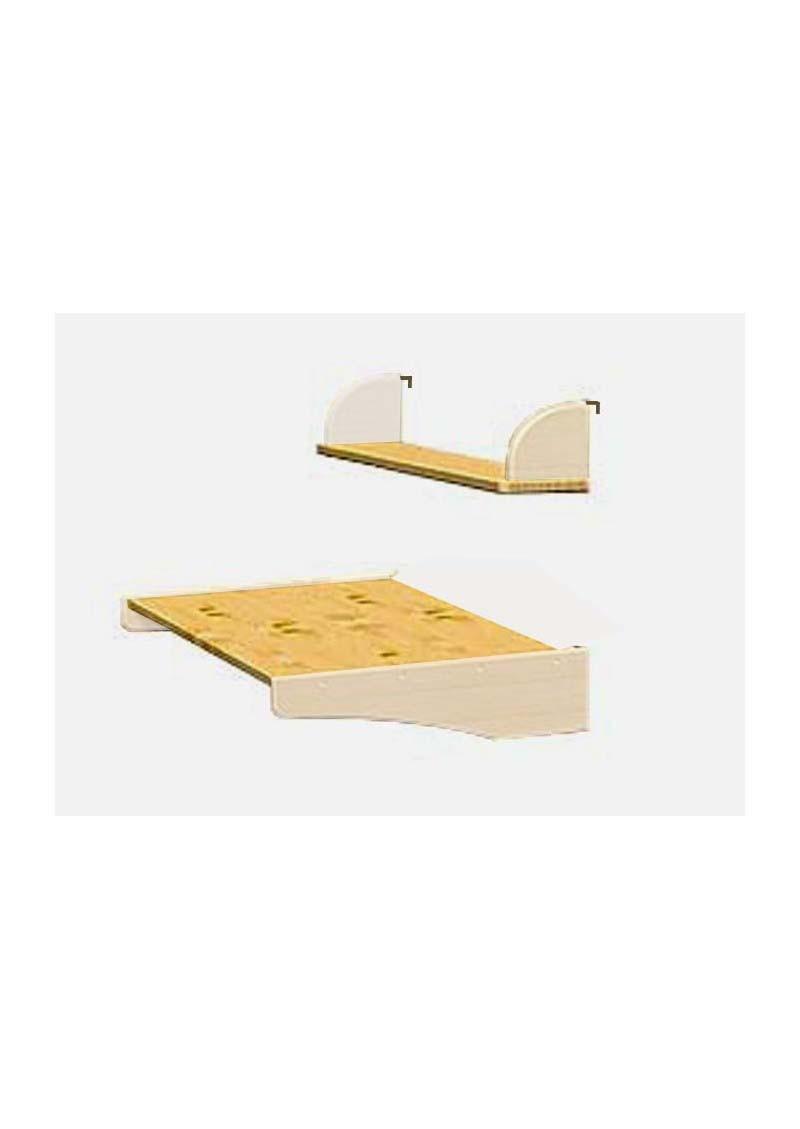 hochbett schreibtisch b cherbord naturholz massiv bio kinderm bel direkt vom deutsche. Black Bedroom Furniture Sets. Home Design Ideas