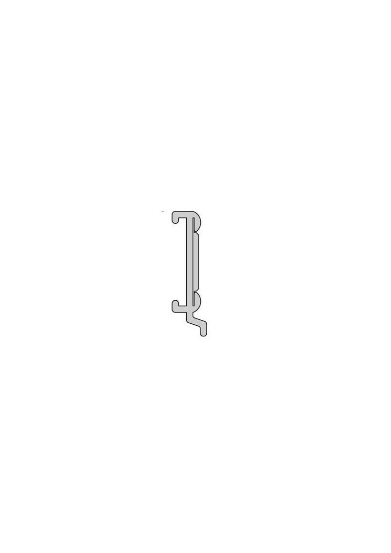 schiebevorhang paneelwagenprofil direkt nach ma mit klettband aluminium silenta. Black Bedroom Furniture Sets. Home Design Ideas