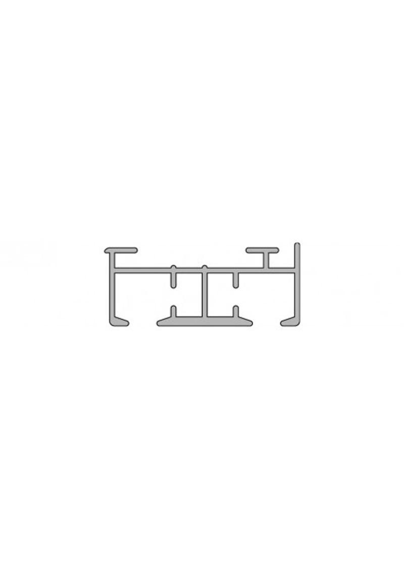 schiebevorhang schiene komplett set nach ma 2 lauf silenta produktions gmbh. Black Bedroom Furniture Sets. Home Design Ideas