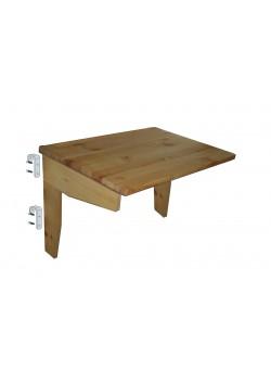 Kinderbett Schreibtischplatte, Bio Kindermöbel, Holz massiv, Höhe regulierbar