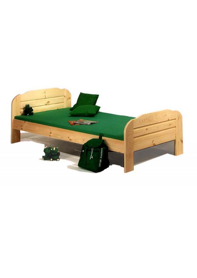 einzelbett form 22 holz massiv 100 x 200 cm 140 x 200 cm silenta produktions gmbh. Black Bedroom Furniture Sets. Home Design Ideas