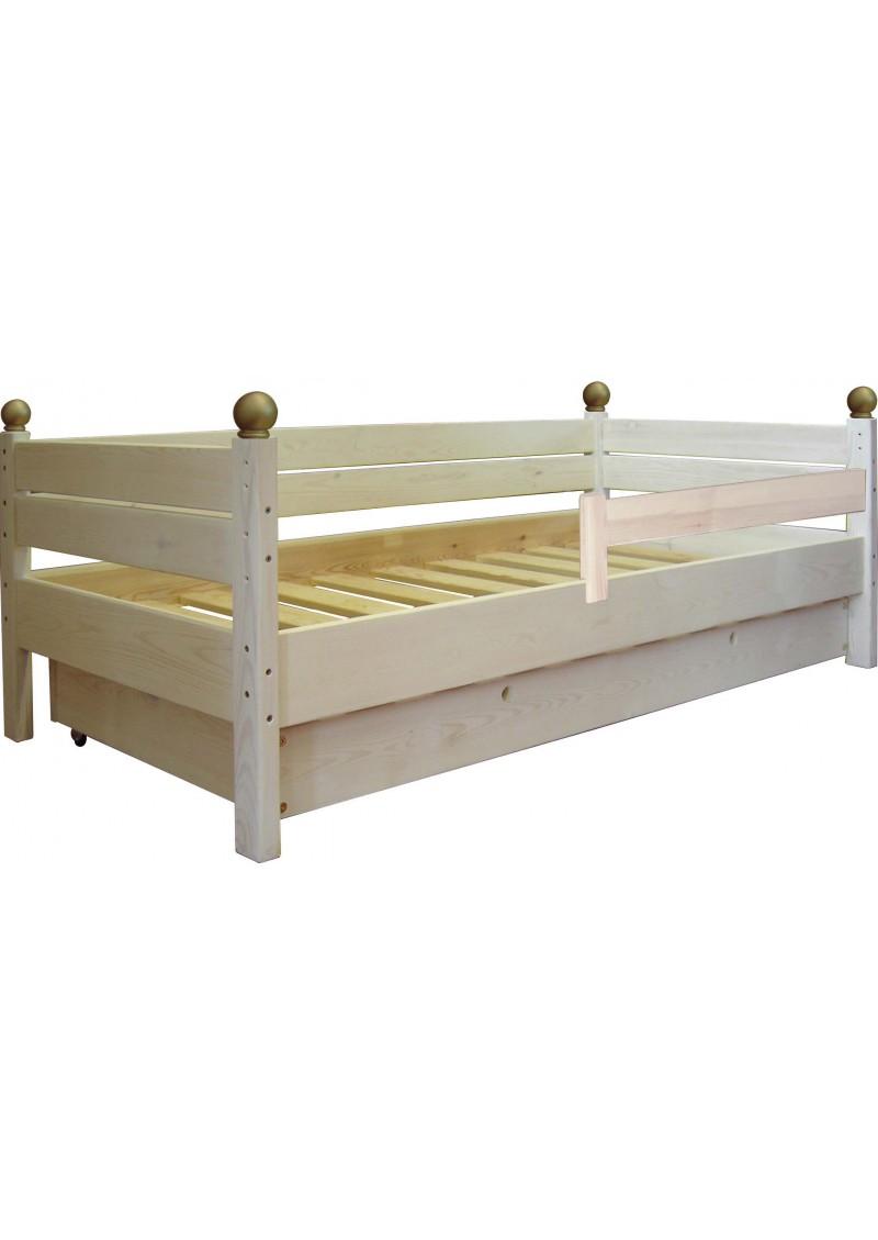 Kinderbett comtesse 70x160 cm mit bettrollkasten holz massiv silenta produktions gmbh for Kinderbett 70 x 160