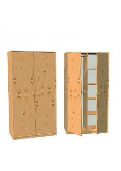 """Kinderzimmer Schrank """"Welle""""  Massivholz Kiefer FSC® aus nachhaltiger Waldwirtschaft. direkt vom deutschen Hersteller"""