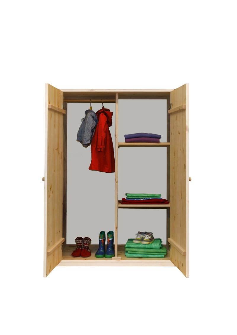 kleiderschrank liliput massivholzm bel bio qualit t direkt vom deutschen hersteller silenta. Black Bedroom Furniture Sets. Home Design Ideas