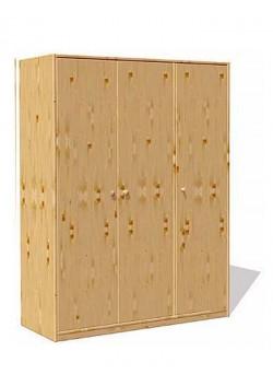 """Kinderkleiderschrank """"trio"""" 3 Türen,  Massivholz ohne Schadstoffe, direkt vom deutschen Hersteller"""