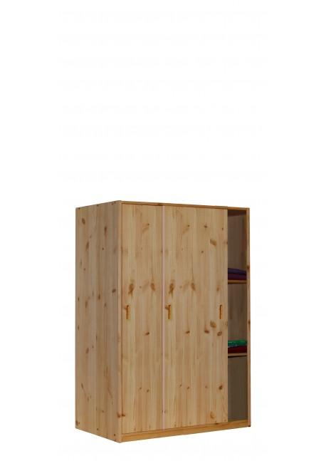 Kleiderschrank mit Schiebetüren, Massivholzmöbel, Bio Qualität aus ...