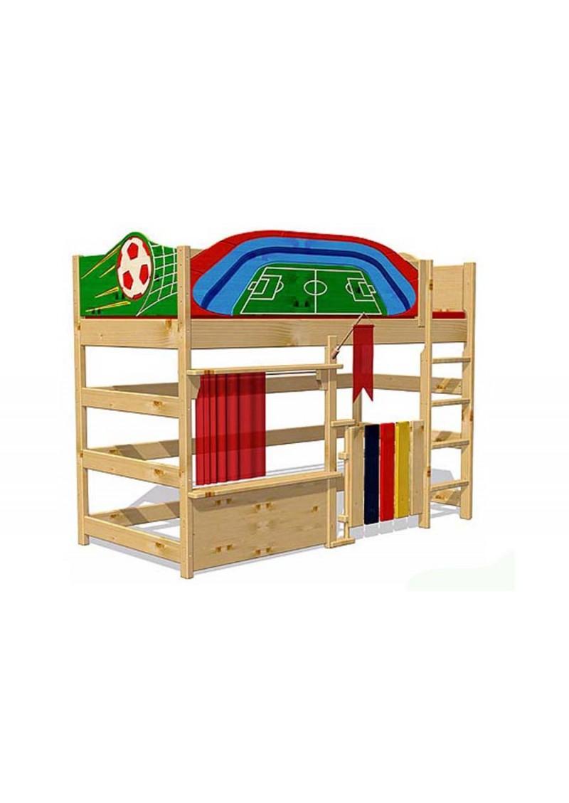 hochbett spielbett euroleague massivholz fsc made in germany silenta produktions gmbh. Black Bedroom Furniture Sets. Home Design Ideas