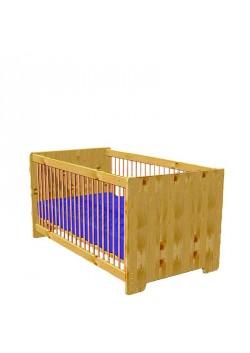 """Babybett """"Heike"""" Kinderbett aus FSC® zertifiziertem Massivholz"""