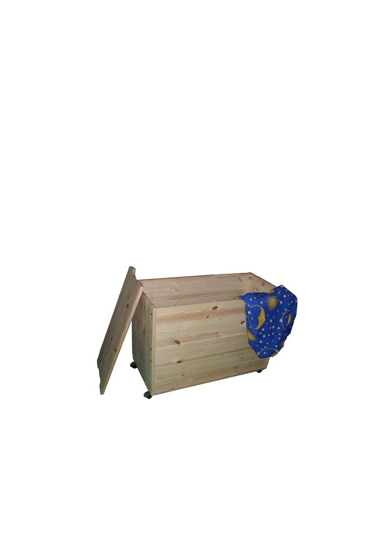 massivholz truhe ebrach kiefernholz allzwecktruhe mit deckel und rollen holztruhe silenta. Black Bedroom Furniture Sets. Home Design Ideas