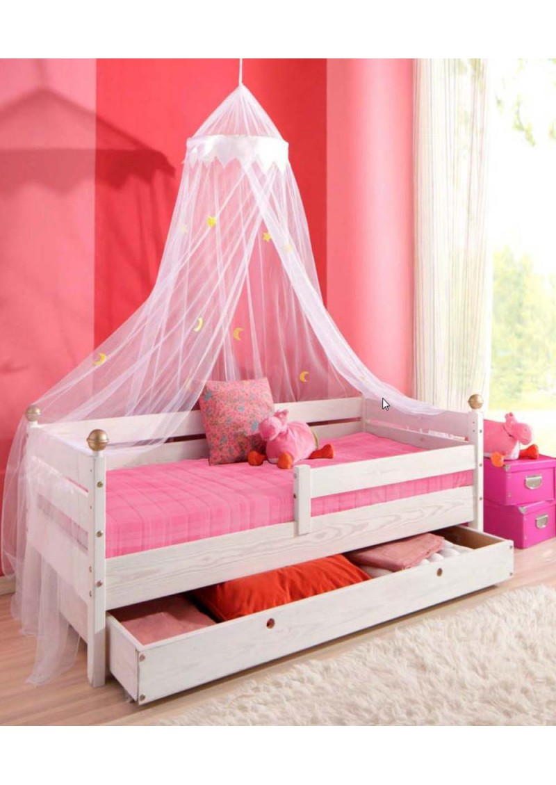 babybett himmel baldachin himmel f r kinderbett. Black Bedroom Furniture Sets. Home Design Ideas