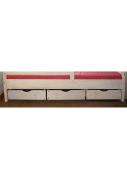 """3 Bettrollkasten """"Comtesse"""" 49x72x16,5cm , Holz massiv FSC® mit Rost, direkt vom Kindermöbelhersteller online bestellen"""