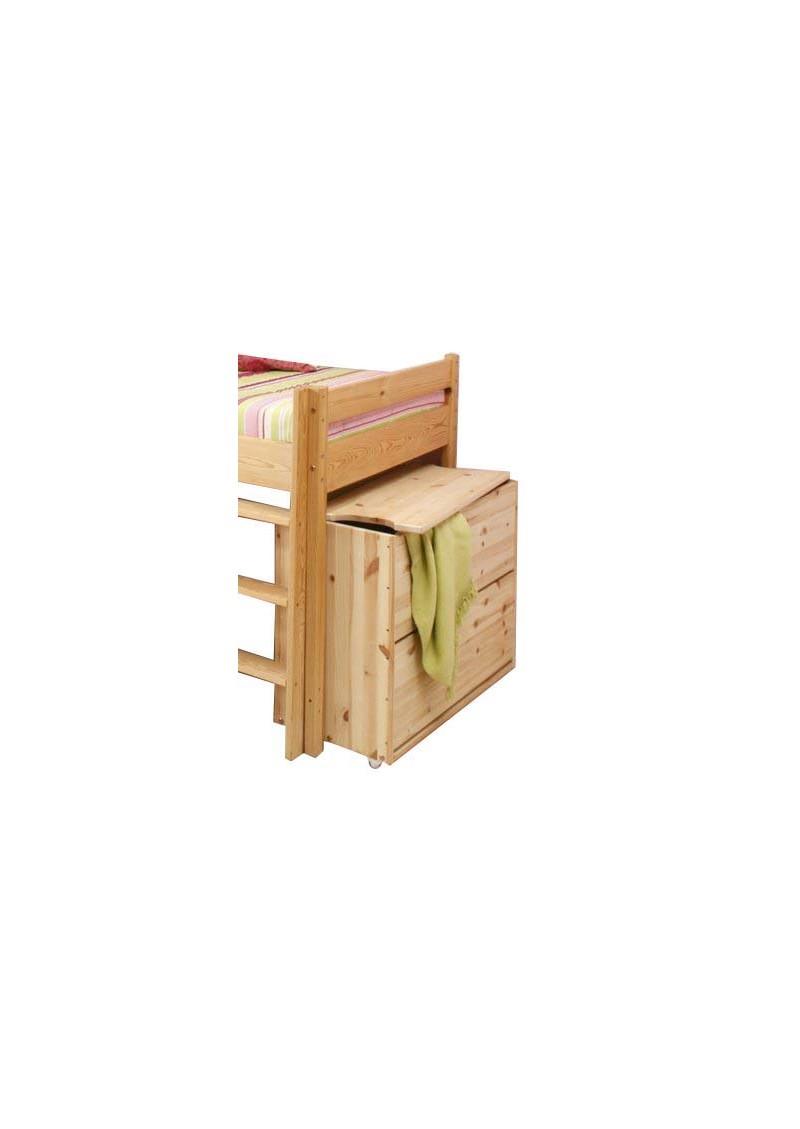halbhochbett mit schreibtisch halbhochbett charly mit. Black Bedroom Furniture Sets. Home Design Ideas