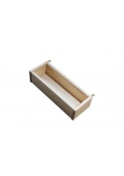 Kinderbett Utensilienbox Holz massiv zum anhängen