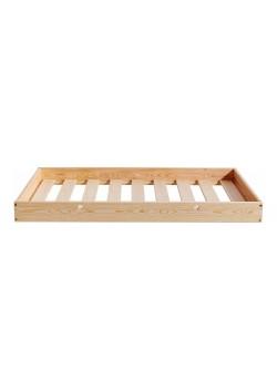 Bett_Rollkasten mit Lattenrost 150 x 68 cm